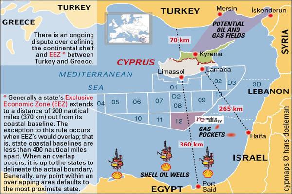 Wer wird es wohl schaffen, sich diese riesigen Öl- und Gasfelder dauerhaft zu sichern? EU/USA oder Rußland?