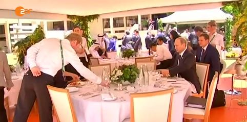 Putin G20 ZDF